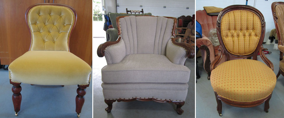 Charlottetown chair upholstery