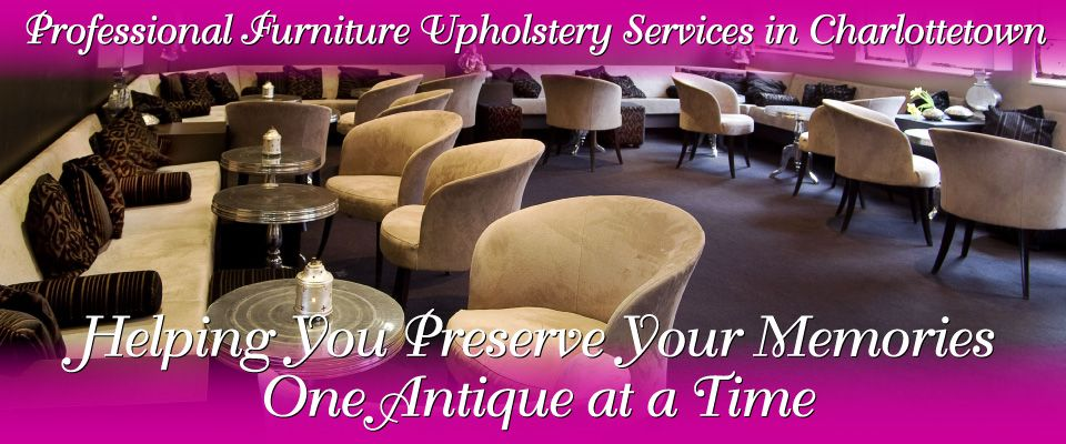 Professional Furniture Upholstery Services in Charlottetown | upholstered furniture in restaurant